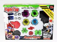 Beyblade Fight Master Top Set  Spinning Metal Fusion 4D Launcher Toy  Kids Gift