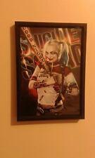 Harley Quinn suicidio escuadrón Póster enmarcado impresión A4 260GSM