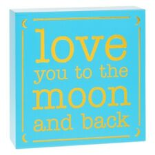 Small Square Plaque Moon, Gifts for Bride and Groom, Love, Romance 275611