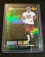 A7 2019 Panini Illusions Green /99 Quinnen Williams New York Jets Rookie Card