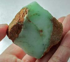 324.2Ct Natural Brazilian Green Opal Facet Rough Specimen YOA42