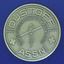 US Army Dust Off ASSN Medivac Helicopter Challenge Coin H
