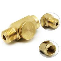 NPT Inline Brass Air Compressor Safety Relief Valve Pressure Release Regulator