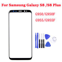 New Original Front Glass Lens Touch Screen Replace For Samsung Galaxy S8 S8 Plus