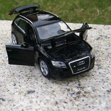 Audi Q5 1:32 Alloy Diecast Model Cars Sound&Light Black Children's Gift Toys New