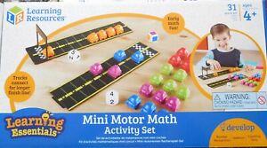 MINI MOTORS MATHS ACTIVITY SET ( 25 cars )  Preschool learning - maths - colour