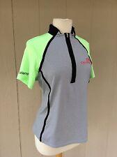 Annika Cutter & Buck Top Short Sleeve SZ M Multicolor Poly Spandex GUC