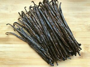 Madagascar Bourbon Vanilla Beans Grade A/B - Great for Extraction & Baking