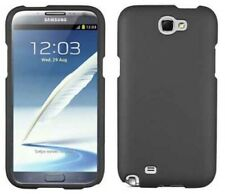 GRAY RUBBERIZED PROTEX HARD SHELL CASE COVER FOR SAMSUNG GALAXY NOTE 2 II