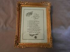 Forever And Always Believe In Yourself Framed Print Gold Tone Frame