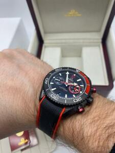 Omega men's wrist watch Seamaster Planet ocean 600m