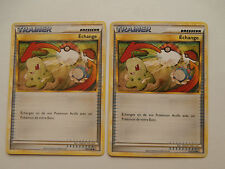 Carte Pokemon Echange Hgss 102/123 x 2 !!!