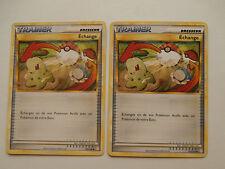 Carte Pokemon Echange Hgss 102/123 x 2 !!!