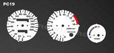 Honda CBR 600 F PC19 / PC23 Tachoscheiben Tacho CBR600 Gauge Dial Ziffernblätter