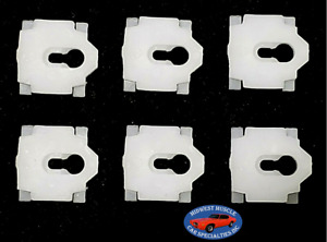 81-85 Cadillac Coupe Deville Vinyl Top Roof Molding Moulding Trim Clip 6pcs SC