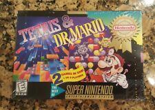 Tetris & Dr. Mario SNES Super Nintendo BRAND NEW
