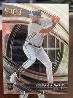 2020 Panini Select Baseball Premier Level Rookie Card RC Yordan Alvarez Astros
