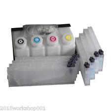 HOT! Roland Bulk Ink System for Roland Mimaki Mutoh --4 Bottles, 8 Cartridge