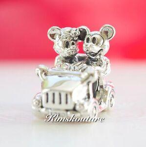 Authentic Pandora Disney, Mickey & Minnie Vintage Car Charm 797174