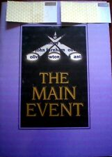 FARNHAM/NEWTON-JOHN + 2 TICKETS MAIN EVENT 1998 TOUR LARGE PROGRAM, SYDNEY