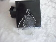 crystal clear collectables paper weight american indian
