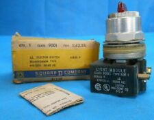 SQUARE D 9001K43J1R SELECTOR SWITCH TRANSFORMER SERIES F NEW
