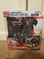 Takara Transformers AM-25 Arms Micron Nemesis Prime black convoy Japanese New