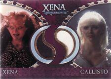 Xena Dangerous Liaisons Xena & Callisto DC3 Costume Card a