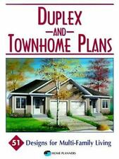 Duplex & Townhome Plans: 51 Designs for Multi-Family Living-ExLibrary