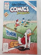 WALT DISNEY COMICS AND STORIES #575 (1992) DISNEY COMICS GIANT-SIZE 64 PAGES!