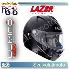 CASCO MOTO LAZER PANAME Z-LINE LUMINO MODULARE NERO TAGLIA M