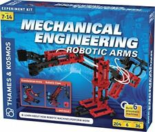 Thames & Kosmos Mechanical Engineering Robotic Arms Free Priority Shipping