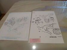 """Spider man Lot (2)  Cover Recreation - Art by Mike Esposito   22"""" x 13.5 20 x 15"""