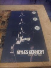MYLES KENNEDY  YEAR OF THE TIGER  WHITE VINYL LP AUTOGRAPHED COVER slash creed