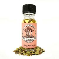 King Midas Oil Wealth Money Prosperity Riches Magick Hoodoo Voodoo Wiccan Pagan