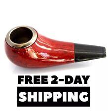 Shiny Tobacco Smoking Pipe Bowl, Stone, Ceramic, & Glass Alternative