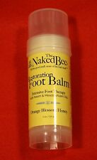 The Naked Bee (1) Restoration Foot Balm Intensive therapy w/Neem Meadowfoam oils