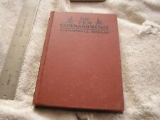 The Ten Commandments G. Campell Morgan 1901