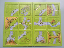 Carcassonne Mini Expansion - The River II, Brand New with English Rules