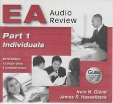 GLEIM EA Audio Review: Individuals Part 1, 4-Disc Set 2010 AUDIO BOOK CD study