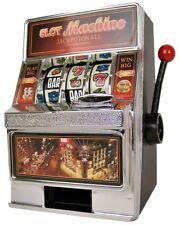 Salvadanaio slot machine vinci e ritira il jackpot gioco realistico idea regalo