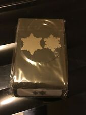 Stampin Up Snow Flurry Punch New And Sealed