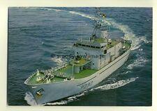na0289 - Royal Navy Warship - HMS Guernsey - postcard