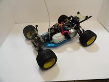 RARE Vintage Schumacher Boss Cat Nitro 4X4 Racing RC 1/10 4WD Nitro 10