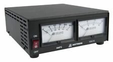 Astron SS-25M Compact Table Top 25 Amp DC Power Supply w/ Dual Meters