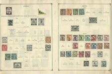 China Stamp Collection 1897-1949 on 24 scott International Pages, JFZ
