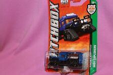 MATCHBOX 2012 1:64 MBX Explorers FROST FIGHTER #75 Dark Blue Diecast Car