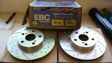 TOYOTA CELICA COUPE 1.8cc 16v VTi EBC PERFORMANCE FRONT VENTED GOLD DISCS GD1031