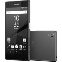 "SONY XPERIA Z5 E6653 32GB 4G LTE 5.2"" UNLOCKED SLIM POSH SMART PHONE  [BLACK]"