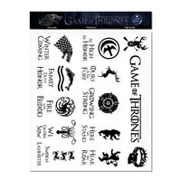 25 PCS Game of Thrones Stickers Black Car Bumper MacBook Decal for Cup